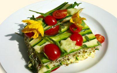Rohkost-Lasagne