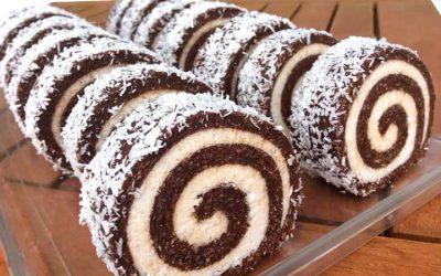 Raw Coconut Roll
