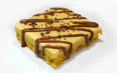Roher Kaki-Kuchen