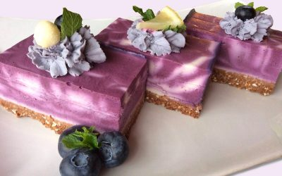 French Forest Berry Cake